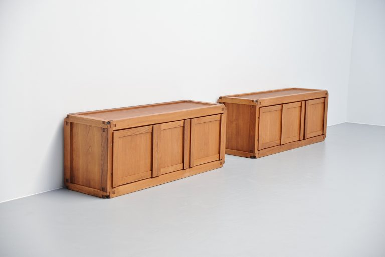 Pierre Chapo B10 cabinet pair France 1962