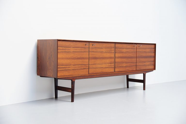 Fredrik Kayser sideboard by Viken Norway 1960