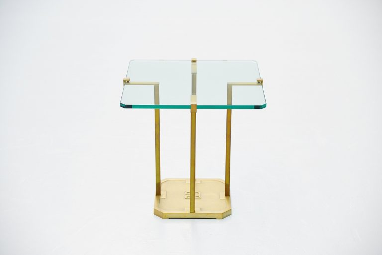 Peter Ghyczy side table Holland 1985