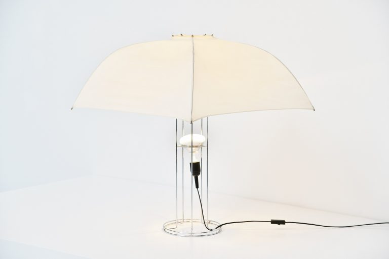Gijs Bakker Umbrella table lamp Artimeta Holland 1973