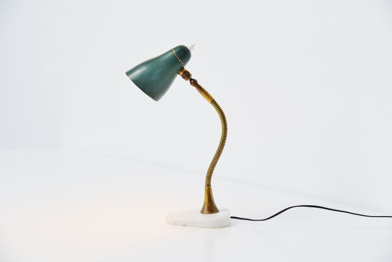 Giuseppe Ostuni attributed table lamp Italy 1955