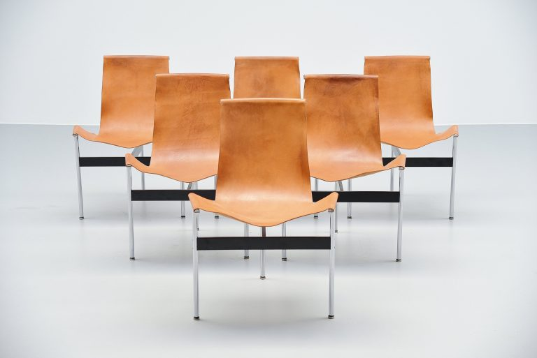 Katavolos Littell Kelly T-Chairs set for ICF de Padova 1964