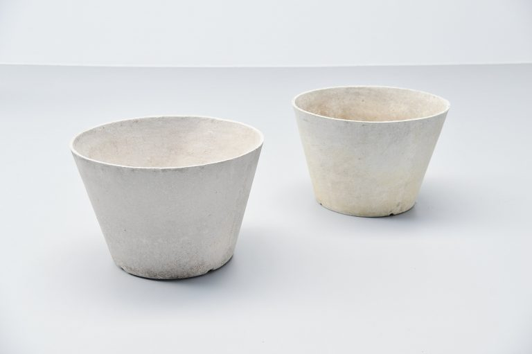 Willy Guhl planter pair Eternit AG Switzerland 1960