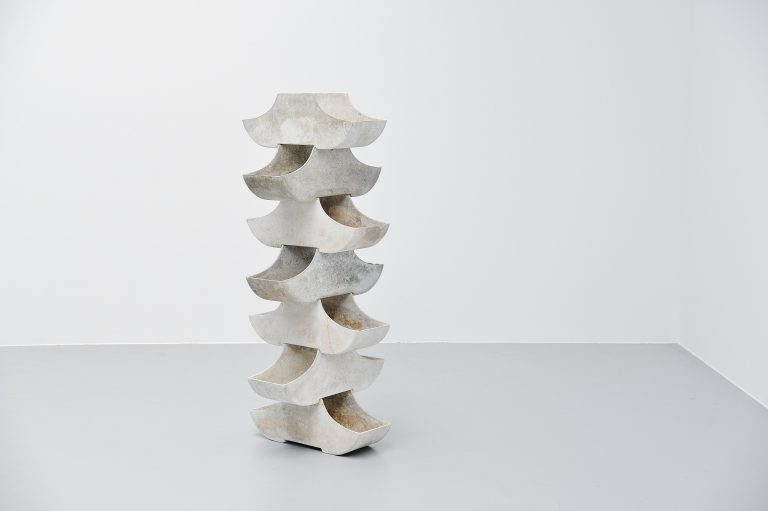 Willy Guhl stacking planters Eternit Switzerland 1960