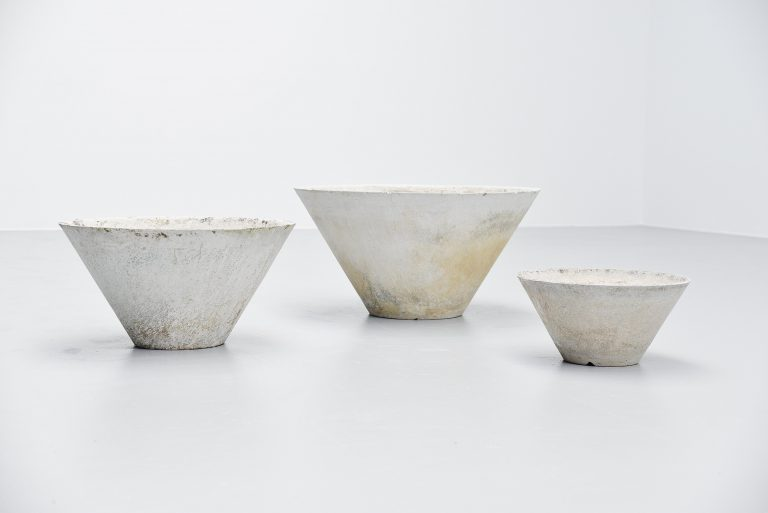 Willy guhl planter set Eternit AG Switzerland 1960