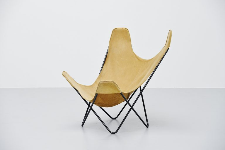Jorge Hardoy Ferrari Butterfly chair Knoll USA 1970