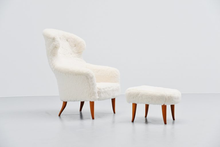 Kerstin Horlin-Holmquist Onkel lounge chair Sweden 1958