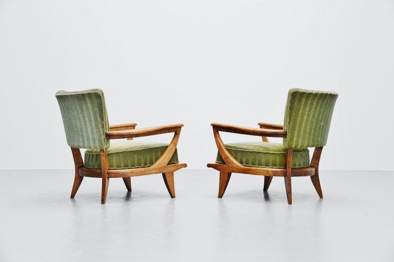 Etienne-Henri Martin SK40 lounge chairs Steiner 1952