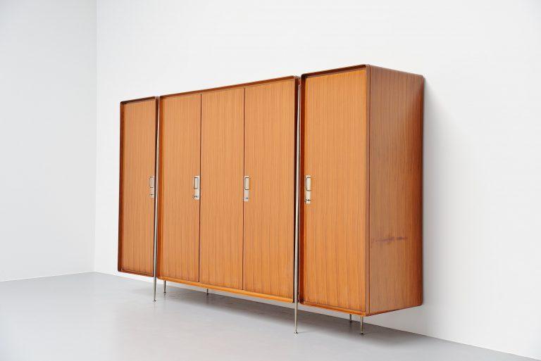 Silvio Cavatorta large wardrobe armoire Italy 1958