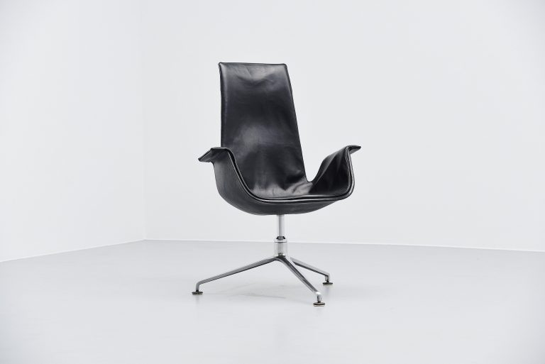 Preben Fabricius Jorgen Kastholm FK6725 bird chair Germany 1964