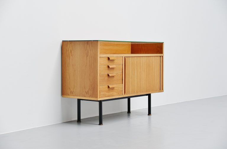 Hein Salomonson showcase cabinet Polak Holland 1958