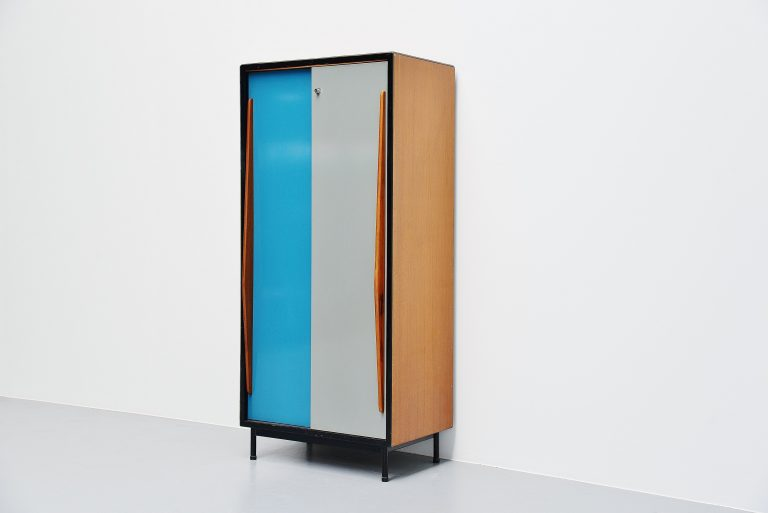 Willy van der Meeren wardrobe cabinet Tubax Belgium 1952