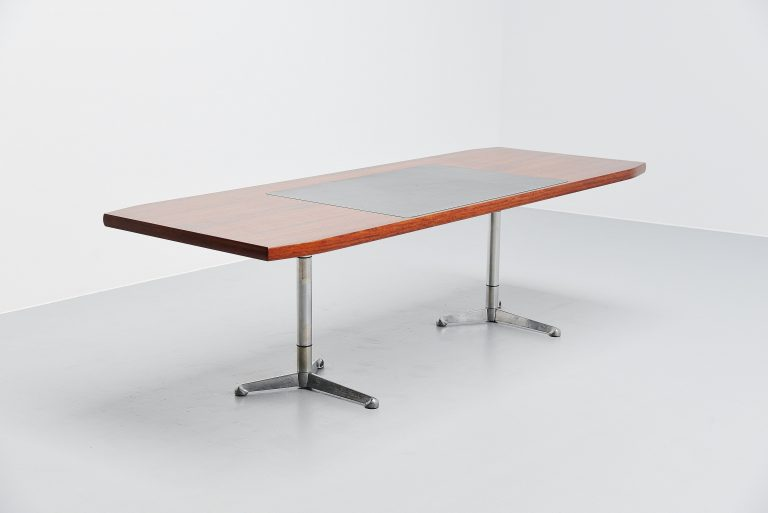 Osvaldo Borsani writing desk table Tecno Italy 1954
