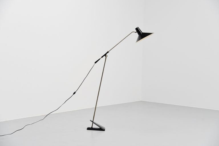 Cosack modernist floor lamp Germany 1960