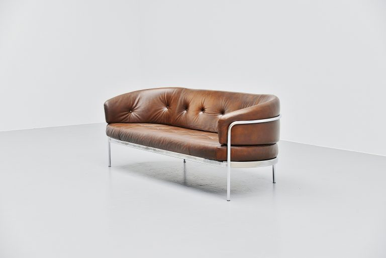 Hans Ell BZ19 lounge sofa 't Spectrum Holland 1970