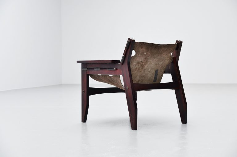 Sergio Rodrigues kilin lounge chair OCA Brazil 1973