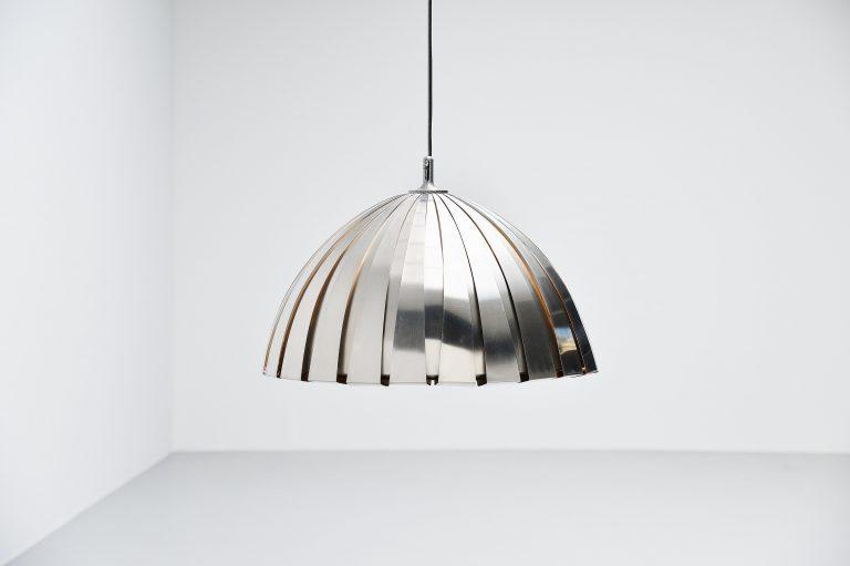 Elio Martinelli Calotta chandelier Italy 1960