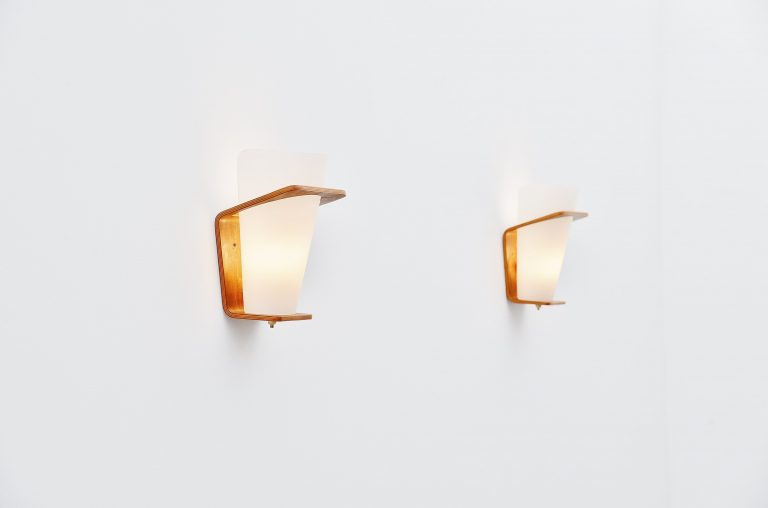 Louis Kalff NX41 sconces Philips Holland 1954
