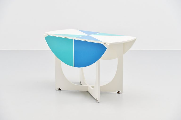 Gio Ponti drop leaf Apta table Italy 1970