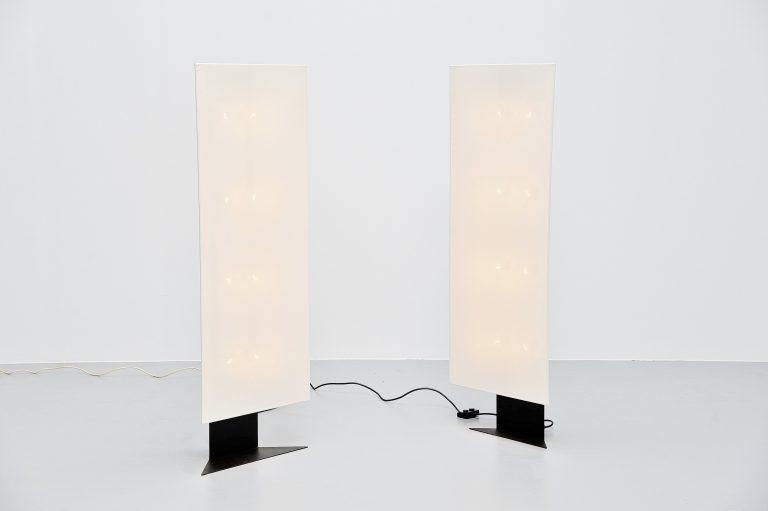 Cini Boeri Accademia floor lamps Artemide Italy 1978
